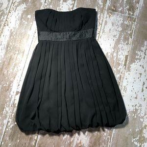 WHBM Strapless Bubble Cocktail Chiffon Dress 4
